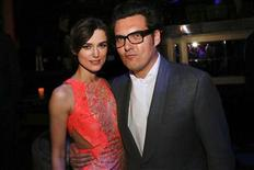 "Keira Knightley and Director Joe Wright attend the after party for the premiere of the movie ""Anna Karenina"" at the Greystone Manor Supper Club in Los Angeles, California November 14, 2012. REUTERS/Patrick T. Fallon"