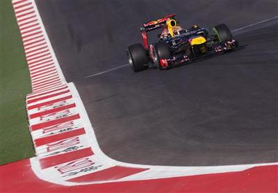 Vettel sets early pace on new Austin motor-racing...