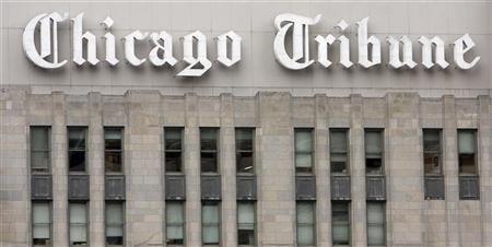 A picture of the Tribune tower in Chicago, Illinois December 8, 2008. REUTERS/Frank Polich