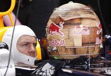 O alemão Sebastian Vettel, da Red Bull, participa de treino livre para o GP dos EUA nesta sexta-feira. REUTERS/Jim Young