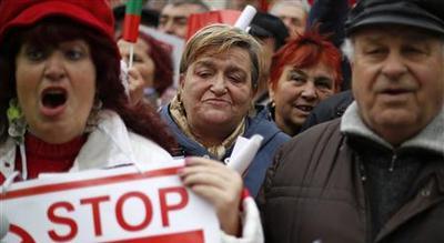 Bulgarians rally, demand government resignation