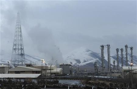 A general view of the Arak heavy-water project, 190 km (120 miles) southwest of Tehran January 15, 2011. REUTERS/ISNA/Hamid Forootan/Files