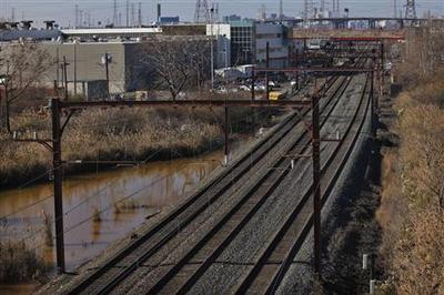 Exclusive: New Jersey railway put trains in Sandy...