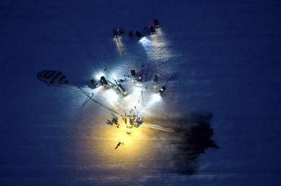 Soyuz with crew of three lands in Kazakhstan