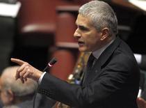 Il leader Udc Pierferdinando Casini. REUTERS/Tony Gentile