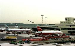 Un'immagine dell'aeroporto di Malpensa, gestito da Sea.