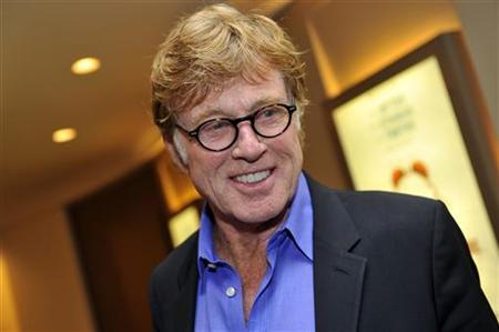 Actor Robert Redford arrives for the premiere screening of HBO's The Big Picture : Rethinking Dyslexia in New York City October 25, 2012. REUTERS/Stephen Chernin