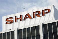 <p>Le plan de départs volontaires du fabricant japonais de téléviseurs Sharp a attiré 3.000 demandes, un millier de plus que prévu. /Photo d'archives/REUTERS</p>