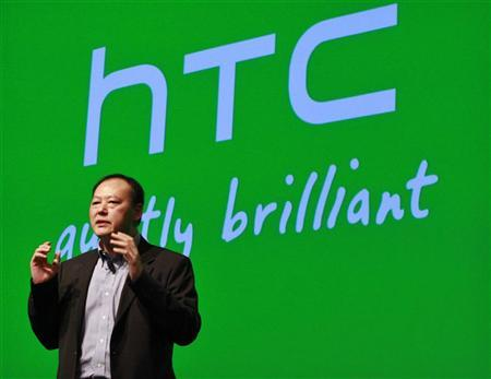 HTC CEO Peter Chou speaks during the launch event for new Microsoft Windows 8 operating system HTC phones in New York September 19, 2012. REUTERS/Brendan McDermid
