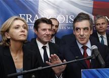 <p>Jean-François Copé, qui a été élu lundi soir à la présidence de l'UMP aux dépens de François Fillon, lui a proposé mardi d'être le vice-président du principal parti d'opposition, une offre refusée par l'entourage de l'ancien Premier ministre. /Photo prise le 19 novembre 2012/REUTERS/Christian Hartmann</p>