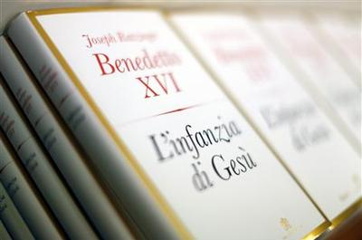 Pope's third book on Jesus reaffirms virgin birth