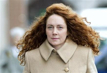 Former News International chief executive Rebekah Brooks arrives at the Old Bailey court in London September 26, 2012. REUTERS/Neil Hall