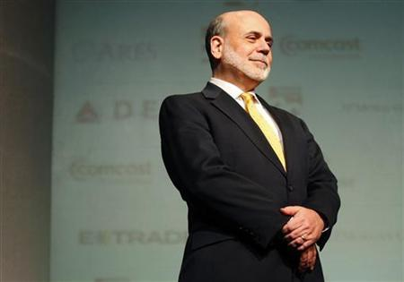 Federal Reserve Chairman Ben Bernanke attends the HOPE Global Financial Dignity Summit in Atlanta, Georgia, November 15, 2012. REUTERS/Tami Chappell