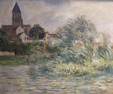 Claude Monet's ''L'Eglise a Vetheuil'' 1881, is shown in this handout photo supplied by Manhattan District Attorney's Office in New York, November 20, 2012. REUTERS/Manhattan District Attorney's Office/Handout