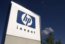 "A HP Invent logo is pictured in front of Hewlett-Packard international offices in Meyrin near Geneva in this August 4, 2009, file photo. Hewlett-Packard Co stunned Wall Street by alleging a massive accounting scandal at its British software unit Autonomy and taking an $8.8 billion writedown, the latest in a string of reversals that renewed questions about the competence of the storied company's board and senior managers. HP said on November 20,2012, it discovered ""serious accounting improprieties"" and ""a willful effort by Autonomy to mislead shareholders,"" after a whistleblower came forward following the May ouster of former Autonomy Chief Executive Mike Lynch. REUTERS/Denis Balibouse/Files"