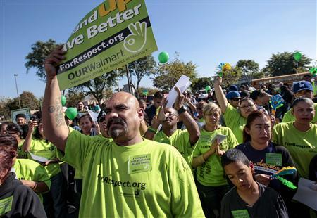 NLRB unlikely to act on Wal-Mart pickets by Thanksgivi...