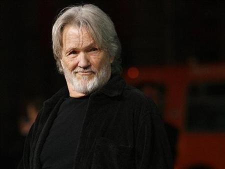Cast member Kris Kristofferson poses at the Grauman's Chinese Theatre in Hollywood, California February 2, 2009. REUTERS/Mario Anzuoni/Files