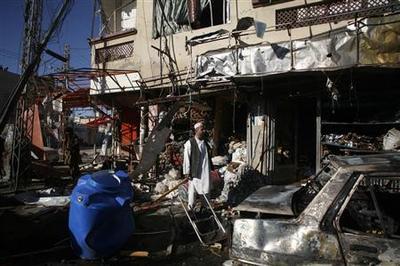 Bomb kills 3 soldiers, 2 civilians in Pakistan