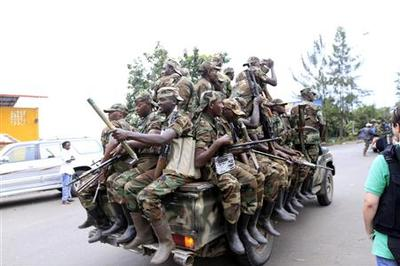 Goma rebels say they will ''liberate'' all Congo