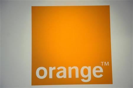 The logo of France Telecom's unit Orange is seen during a news conference in Paris July 5, 2010. REUTERS/Philippe Wojazer/Files