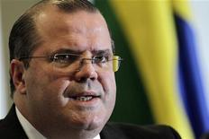 Presidente do Banco Central Alexandre Tombini disse que a economia do país acelera e que a expectativa é de ritmo mais forte no próximo ano. 12/09/2012 REUTERS/Ueslei Marcelino