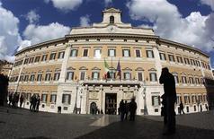 Montecitorio, la Camera dei deputati, in una foto del novembre 2011. REUTERS/Tony Gentile