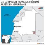 <p>UN DJIHADISTE FRANÇAIS PRÉSUMÉ ARRÊTÉ EN MAURITANIE</p>