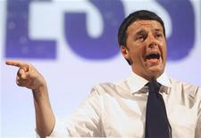 Matteo Renzi, sindaco di Firenze candidato alle primarie del centrosinistra. REUTERS/Giorgio Benvenuti