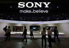 Para agência de classificação de crédito, maior parte do comércio de eletrônicos da Sony é deficitária. 02/10/2012 REUTERS/Yuriko Nakao