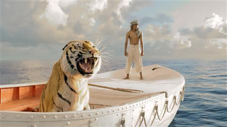 A handout picture for the movie 'Life of Pi'.