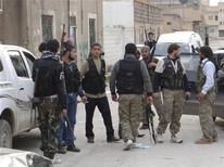 Rebeldes enfrentam governo do ditador Bashar al-Assad em conflito que já deixou mais de 40 mil mortos. 22/11/2012 REUTERS/Samer Abdullah/Shaam News Network/Handout