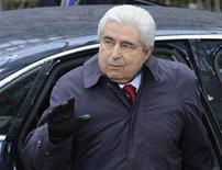 Los prestamistas internacionales y Chipre han hecho progresos para llegar a un acuerdo sobre un rescate para la isla mediterránea, pero las negociaciones continuarán y aún no hay acuerdo, dijeron el Banco Central Europeo y el Fondo Monetario Internacional. En la imagen, el presidente de Chipre, Demetris Christofias, llega a la cumbre de la UE en Bruselas el 23 de noviembre de 2012. REUTERS/Eric Vidal