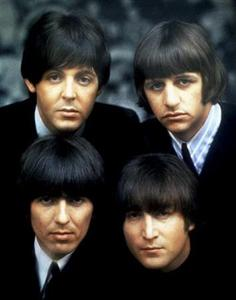The Beatles, shown in an undated photo, dominated the VH1 survey with a total of five albums.