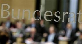 Il Bundesrat, il Senato federale tedesco. REUTERS/Tobias Schwarz