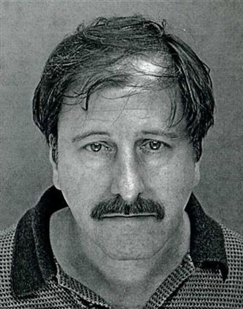Salvatore Perrone is picture in this 2001 booking photo from the Franconia Township Police Department, in Telford, Pennsylvania. REUTERS/Franconia Township Police Deptartment/Handout