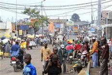 People go about their business in central Goma, in eastern Democratic Republic of Congo November 22, 2012. REUTERS/James Akena