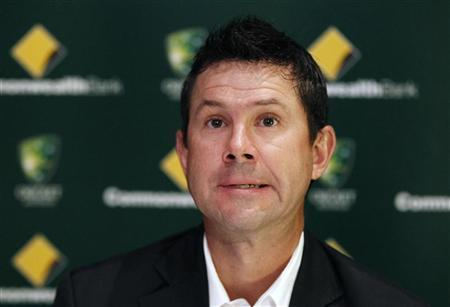 Australian cricket player Ricky Ponting speaks during a news conference in Sydney February 21, 2012. REUTERS/Daniel Munoz