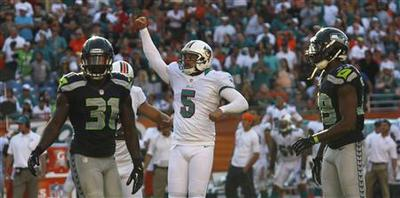 Late field goal gives Miami win over Seahawks