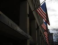 The main headquarters of the FBI, the J. Edgar Hoover Building, is seen in Washington on March 4, 2012. REUTERS/Gary Cameron