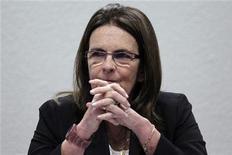 A presidente da Petrobras, Maria das Gracas Foster, participa de audiência de comitê em Brasília. Foto de Arquivo. 11/09/2012 REUTERS/Ueslei Marcelino