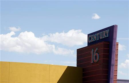 The Century 16 movie theater where 12 were killed and dozens injured on July 20, 2012, is pictured in Aurora July 26, 2012. REUTERS/Rick Wilking