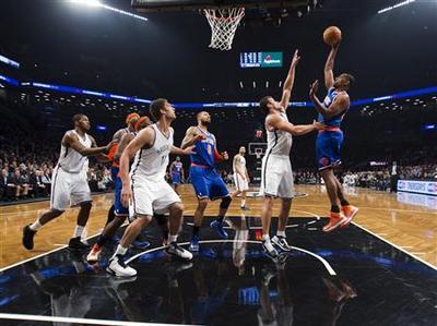 NBA: Nets win first battle of New York in OT