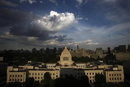 A general view of the parliament building in Tokyo September 12, 2012. REUTERS/Toru Hanai/Files