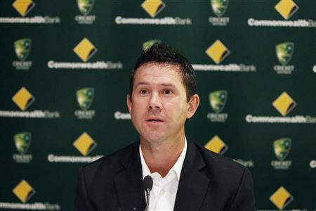 Australian cricket player Ricky Ponting speaks during a news conference in Sydney February 21, 2012. Ponting said he will continue to play test cricket, but doesn't expect to play one-day cricket for Australia any more. REUTERS/Daniel Munoz