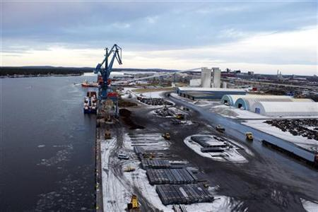 A view of the Swedish Baltic Sea port of Lulea November 14, 2012. REUTERS/Alister Doyle