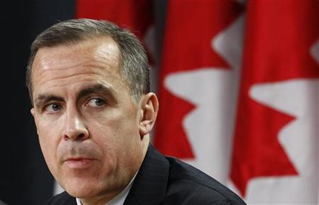 Bank of Canada Governor Mark Carney takes part in a news conference in Ottawa November 26, 2012. REUTERS/Chris Wattie