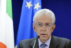 Il premier Mario Monti. REUTERS/Eric Vidal