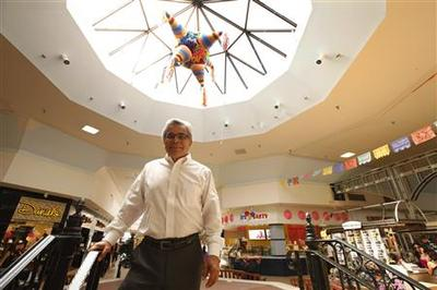 Shopping malls cater to shifting demographics