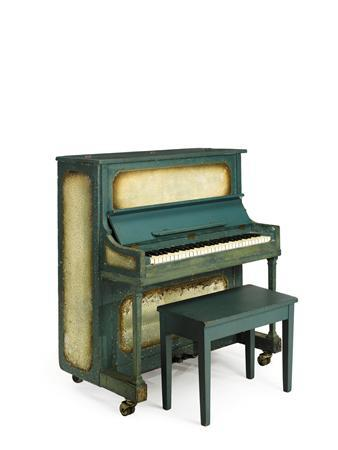 Undated handout photo of the Paris piano from the film ''Casablanca,'' which could sell for more than $1 million at auction in New York on December 14, 2012. REUTERS/Sotheby's/Handout