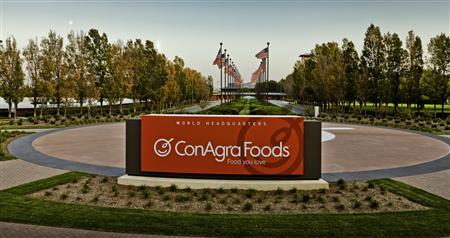 ConAgra Foods world headquarters are seen in an undated publicity photo. Long-time suitor ConAgra Foods Inc finally sealed a deal to buy Ralcorp Holdings Inc for $5 billion to become the biggest private label food company in North America. REUTERS/ConAgra/Handout